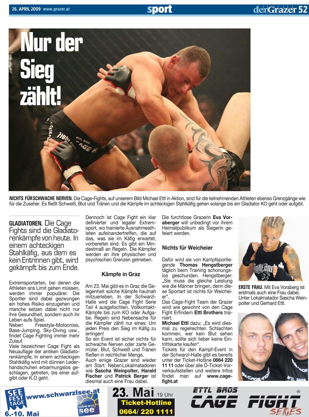 Der Grazer 26. April 2009